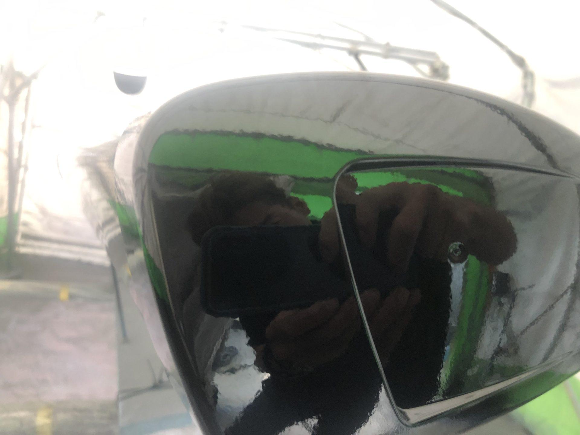 ガーミンGMR426 バードレーダーカスタムペイント